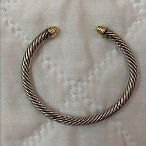David Yurman 5mm Gold Cable Bracelet